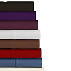 Egyptian Cotton Sateen Deep Pocket 300 Thread Count Sheet Set