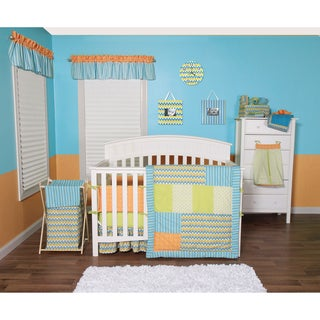 Trend Lab Levi Collection 5-piece Crib Bedding Set