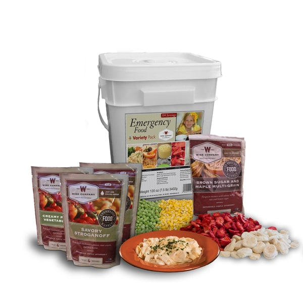 Wise Company Emergency Food Variety Pack (104 servings)