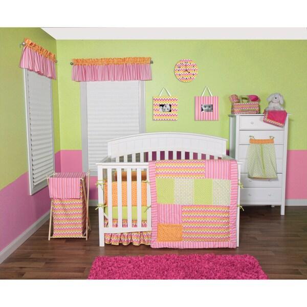 Trend Lab Savannah 5-piece Crib Bedding Set