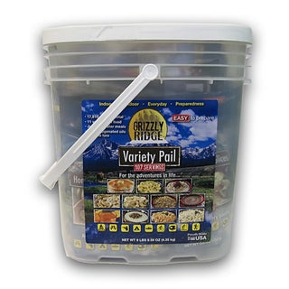 Grizzly Ridge Variety Pail