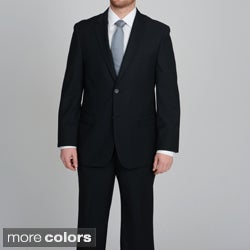 Caravelli Men's 2-button Tonal Stripe Suit