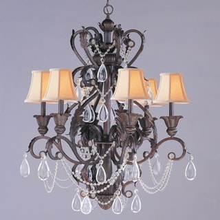 Winslow Dark Rust 6-Light Chandelier