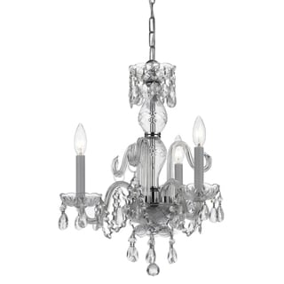 Imperial Chrome 3-Light Crystal Chandelier