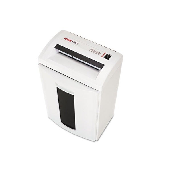 HSM 104.3 Continuous-Duty Strip-Cut Shredder