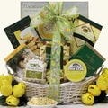 Tempting Easter Cheese Delights Gourmet Gift Basket