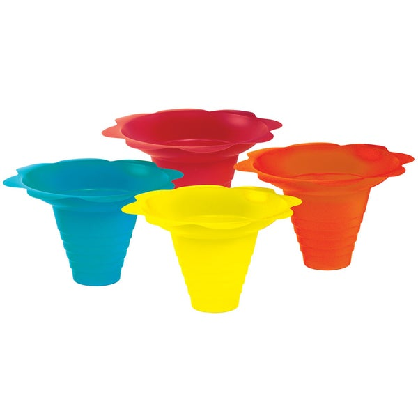 Paragon 8-Ounce Flower Drip Tray Cups (Pack of 100)