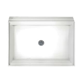 American Standard Acrylic Single Threshold White Shower Base