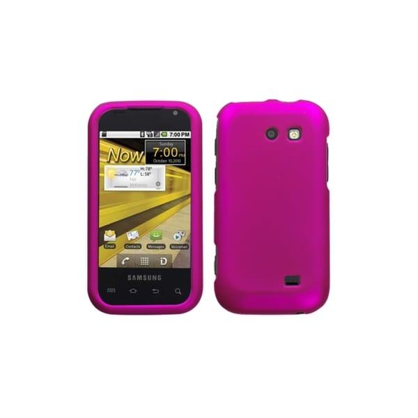 INSTEN Titanium Solid Hot Pink Case Cover for Samsung Transform Ultra M930