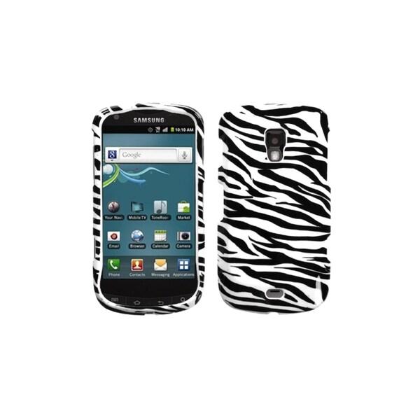 INSTEN Zebra Skin Case Cover for Samsung R930 Galaxy S Aviator