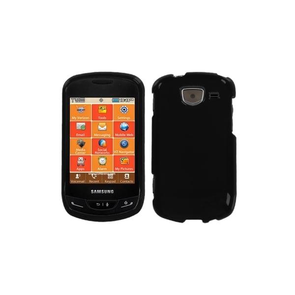 MYBAT Black Protector Case for Samsung U380 Brightside