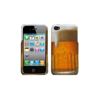 INSTEN Beer - Food Fight Collection Case Cover for Apple iPhone 4/ 4S