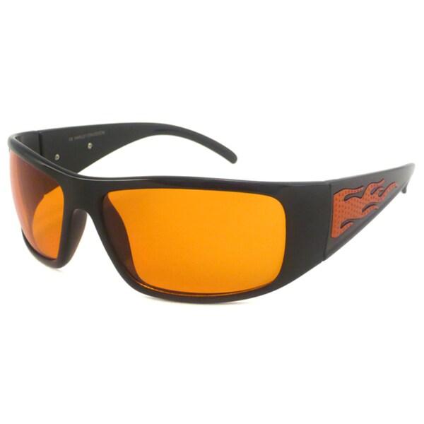 Harley Davidson Men's HDS579 Wrap Sunglasses