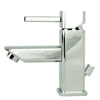 Italia Torre Quadrata Chrome Single-Post Bathroom Sink Faucet