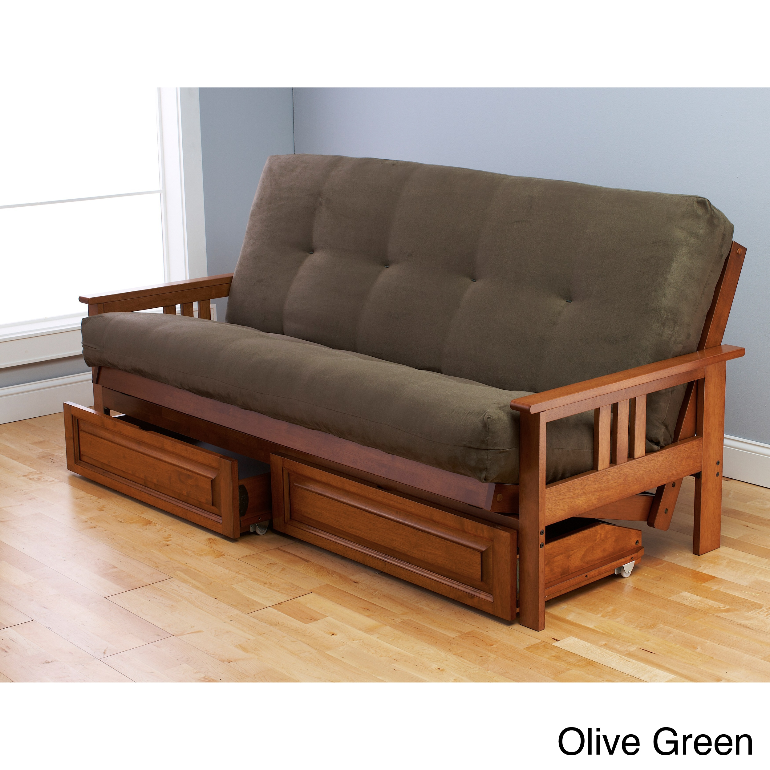 Beli Mont Multi-Flex Honey Oak Futon Set at Sears.com