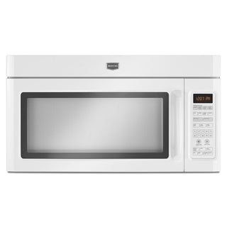 "Maytag ""MMV5208WW"" White Over the Range Microwave"