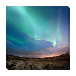 Aurora Borealis Oversized Gallery Wrapped Canvas