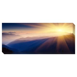 Mountain Panoramic Oversized Gallery Wrapped Canvas