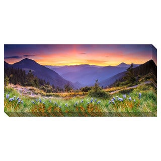 Mountain Landscape Oversized Gallery-Wrapped Canvas Art