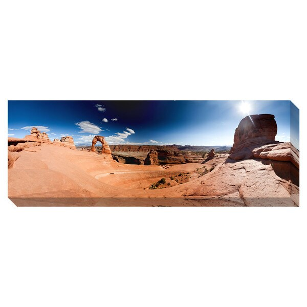 Arch Panorama Oversized Gallery Wrapped Canvas