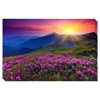Mountain Landscape Oversized Gallery Wrapped Canvas