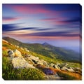 Mountain Sunset Oversized Gallery Wrapped Canvas