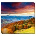 Fall Sunset Oversized Gallery Wrapped Canvas