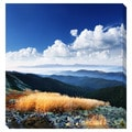 Mountain Layers Oversized Gallery Wrapped Canvas