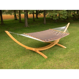 Manhattan Quilted Fabric Double Hammock
