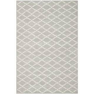 "Safavieh Contemporary Handmade Moroccan Gray Wool Rug (8'9"" x 12')"