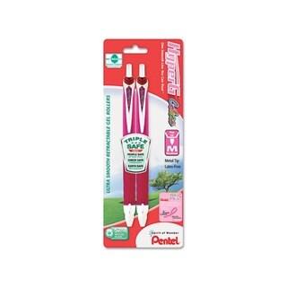 HyperG Roller Ball Medium Retractable Gel Pen (Two pack)