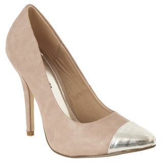Riverberry Women's 'Ricola' Stiletto Pumps
