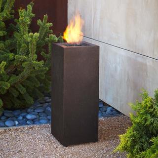 Real Flame Kodiak Brown Baltic Fire Column