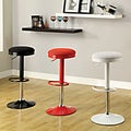 Furniture of America Elroy Mesh Adjustable Swivel Bar Stool Set (Set of 2)