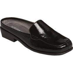 Women's Aerosoles Duble Down Black Multi Slip-On with Rubber Sole