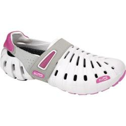 Women's Propet Voyager Walker Light Grey/Hot Pink