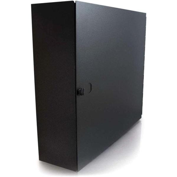 C2G Q-Series 4-Panel Wallmount Box