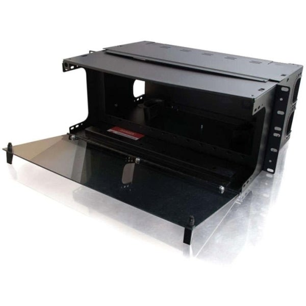 C2G Q-Series 4u 12-Panel Rackmount Fiber Optic Enclosure