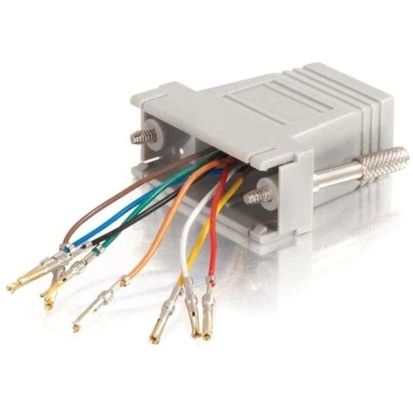 C2G RJ45 to DB15 Female Modular Adapter