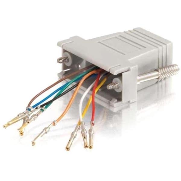 C2G RJ45 to DB15 Female Modular Adapter