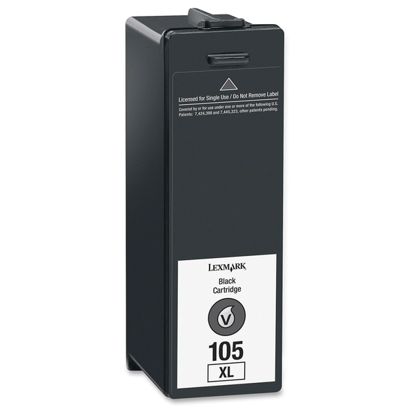 Lexmark No. 105XL High Yield Return Program Ink Cartridge