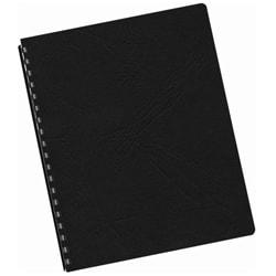 Black Grain Texture Oversized Binding Covers