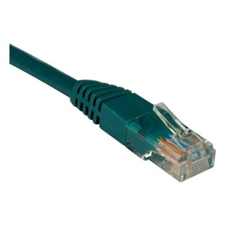 Tripp Lite 1ft Cat5e / Cat5 350MHz Molded Patch Cable RJ45 M/M Green