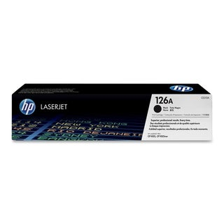 HP 126A (CE310A) Black Original LaserJet Toner Cartridge