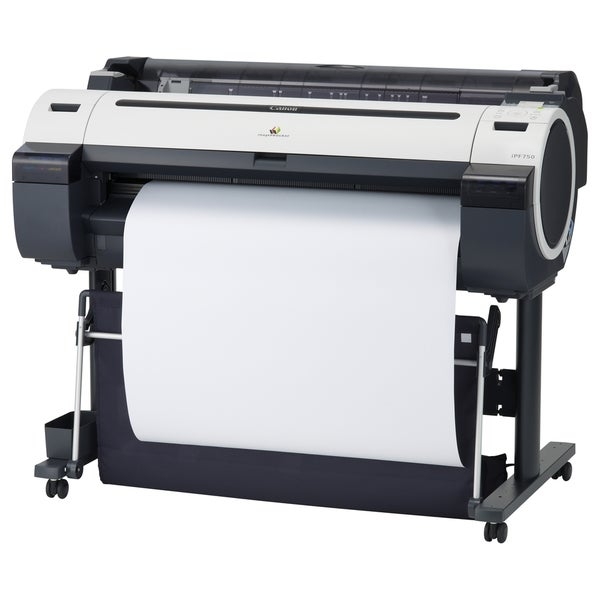 """Canon imagePROGRAF iPF750 Inkjet Large Format Printer - 36"""" - Color"""