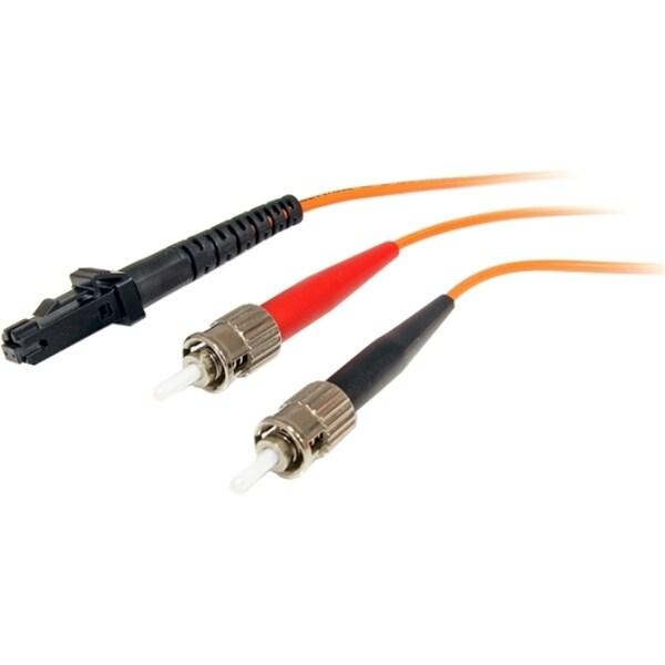 StarTech.com 1m Multimode 62.5/125 Duplex Fiber Patch Cable MTRJ - ST