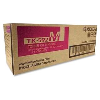 Kyocera TK-592M Toner Cartridge - Magenta