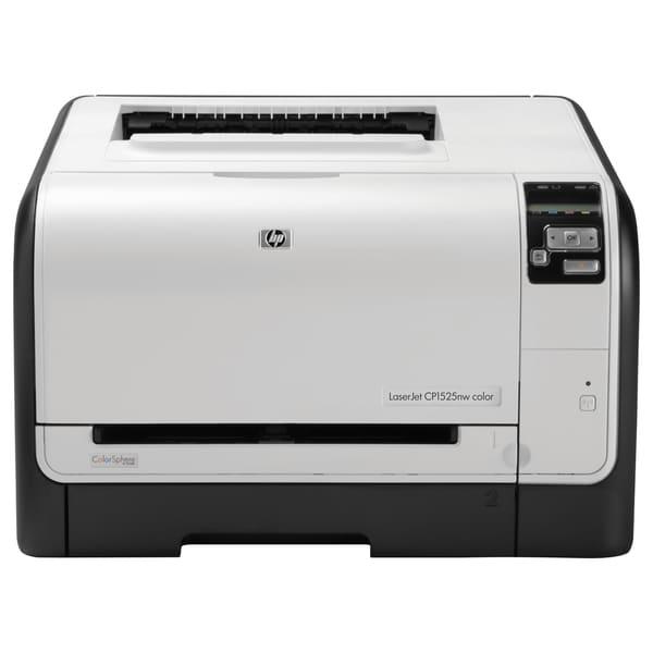 HP LaserJet Pro CP1525NW Laser Printer - Refurbished - Color - 600 x