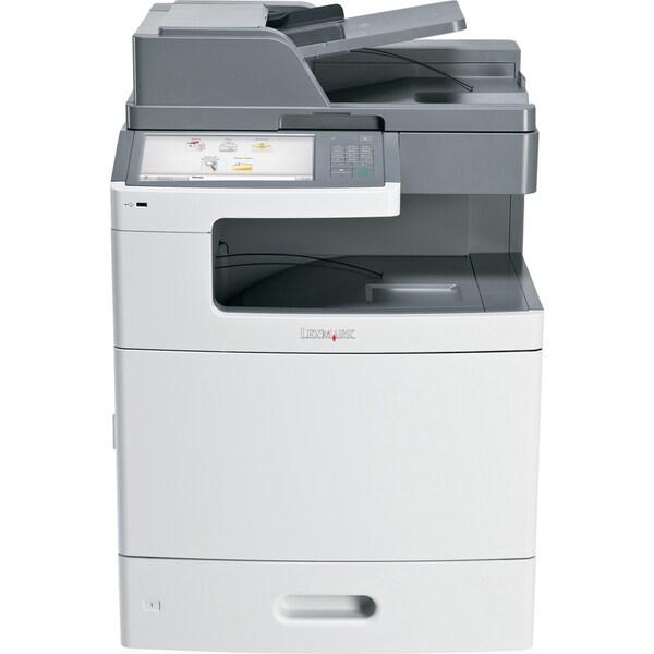 Lexmark X792DE Laser Multifunction Printer - Color - Plain Paper Prin