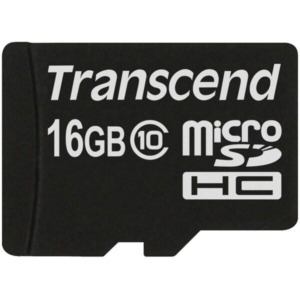 Transcend 16 GB microSD High Capacity (microSDHC)